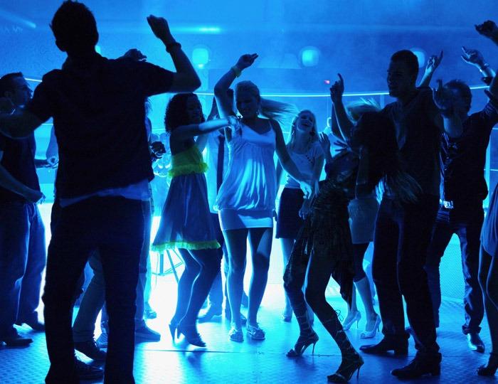 DJ has the crowd going wild